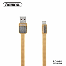 (2 pcs) REMAX RC-044 Metal data cable platinum  DIOKKC