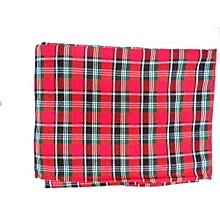 Classy Multi-Coloured Maasai Shuka -Red