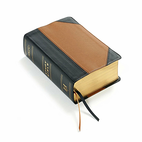 Holman Study Bible :NKJV Edition Personal size Espresso/Teal Leather Touch