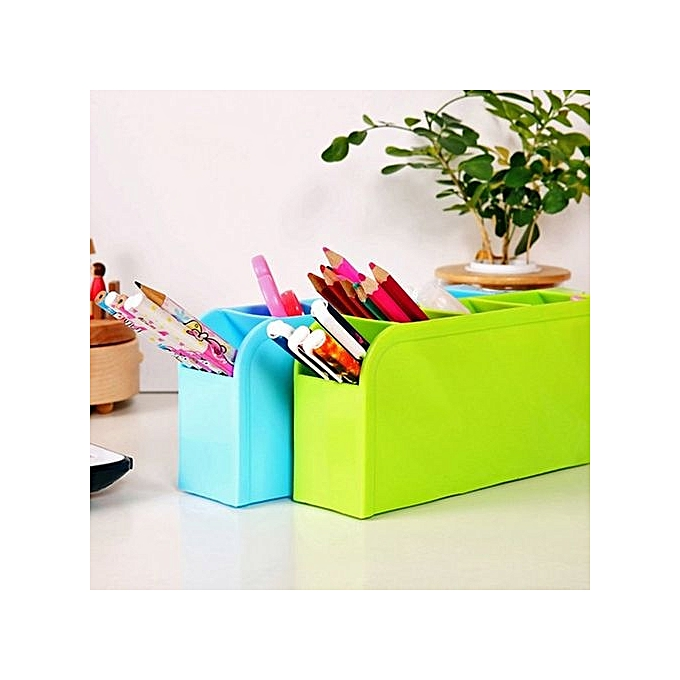 Desktop Storage Box Cosmetics Container Makeup Organizer For Home Office