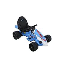 Blue Racer Battery-Powered Go-Kart