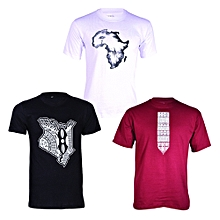 Money Saver T-shirt Bundle (3-in-1) - Multicolour