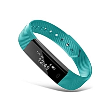 ID115 - Sports Heart Rate Smart Wristband Fitness Watch - Green