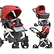 3 in 1 Stroller Set Combo & Carry Cot (A stroller, bassinet & carrycot)