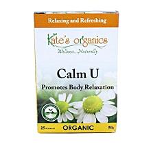 25 Calm U Tea Bags - 50g
