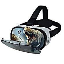 FIIT VR 3D Virtual Reality Glasses 102 Degrees FOV Helmet Light Weight Ergonomic Design
