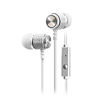 Hiamok_1PC Super Bass Stereo 3.5mm In-Ear Earphone Sport Headset with Mic SL