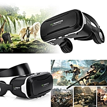 "Virtual Reality Headset 3D VR Glasses for 4""-6.0"" Android iOS Win Phones"