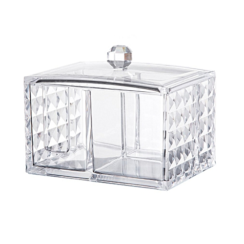 717a93bf67e3 Fashion Clear Makeup Organizer Acrylic Storage Box Cosmetic Organizer clear