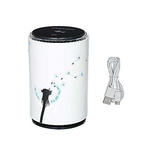 buy generic royalstar portable ceramic air purifier with true hepa ...