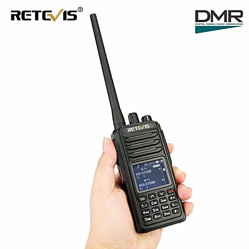 RT52 DMR Radio Digital Walkie Talkie Dual PTT Dual Band DMR VHF UHF GPS Two  Way Radio Encrypted Ham Amateur Radio+Cable ObeyQ