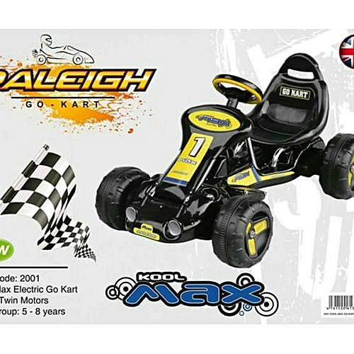 Raleigh Double 12v Dual Motor Kool Max Electric Battery Ed Go Kart 3 7yrs