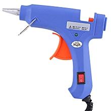 Hot Melt Glue Tool with 12pcs Glue Sticks Dent Repair Tools US Plug 100V-220V (20W, 7mm Sticks)