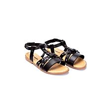 Black Fashionable Sandals