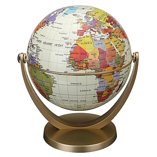 UNIVERSAL 360° Rotating Globes Earth Ocean Globe World Geography Map ...