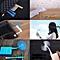 Xiaomi Portable Flexible Mute USB Computer Laptop Cooling Fan Blower, Size: 145.5 * 15 * 89.3 Mm(Blue)