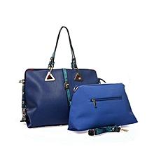 Blue 2 In 1 Women's Bag
