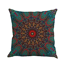 Geometry Painting Linen Cushion Cover Throw Pillow Case Sofa Home Decor D