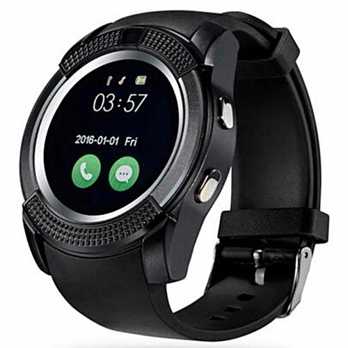 Sport Watch Full Screen Smart Watch V8 For Android Match Smartphone Support  TF SIM Card Bluetooth Smartwatch PK GT08 U8