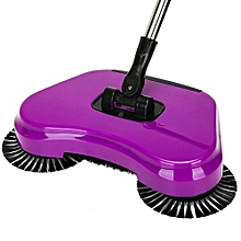 Spin Hand Push Broom Household Floor Dust Cleaning Sweeper Mop No Electricity