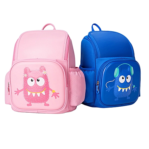 ce69d08c74fe MI Xiaomi 3D Little Monster Style Kid Children Backpack Lightweight School  Student Travel Bag Rucksack