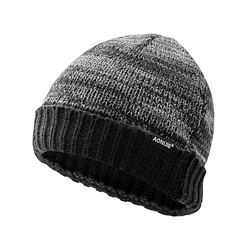 57c9ad354 Winter Knitted Hats Snowboarding Cap Winter Windproof Thick Warm Running  Outdoor Sports Ski Running Caps(Grey M25)