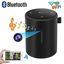 Smart Wifi Bluetooth Wireless Speaker Music Player Hands Free Speaker HD Spy Camera JY-M
