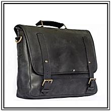 Unisex Mo Messenger Bag - Made In Kenya,100% Genuine Leather