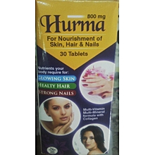Hurma For Nourishment of Skin, Hair & Nails - 30's