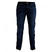 Blue Boys Straight Fit  Denim Pants