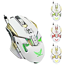 ZERODATE X300 Professional Optical Programmable Wired Gaming Mouse LBQ