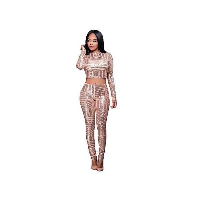 5fd72db148 New Arrivel Hot Sale Vogue Solid Color Slim Fit Causal Playsuit Sexy Women  Jumpsuit-Gold