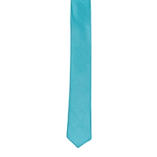 Turquoise Blue Men's Tie with Pocket Square/Pochette/Pocketchief