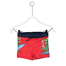 Boy Red Swimsuit