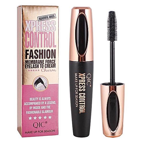 2fee8158aab Generic makeup 4d silk fiber eyelash mascara Long Curling mascara Makeup  Eyelash Black Waterproof Fiber Mascara Eye Lashes makeup(black)