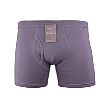 Grey Good Quality All Weather Cotton Fitting Men Boxers