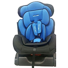 Big Infant Car Seat with a reclining Base- Blue & Black( 0-7 years)