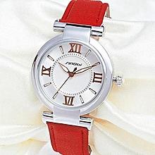 2017 new brand women luxury dress watches waterproof leather strap fashion quartz watch student wristwatches ladies hours