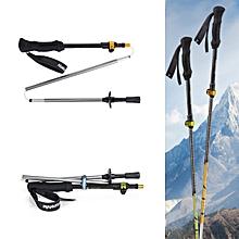 Naturehike Ultralight 7075 Aluminum Alloy Adjustable 3 Sections Telescopic Walking Hiking Stick