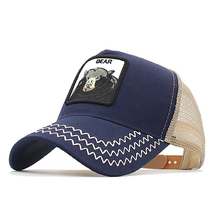 0e0620e5 New Animals Donald Duck Embroidery Men's Baseball Cap Women Snapback Hip  Hop cap Summer Mesh hat
