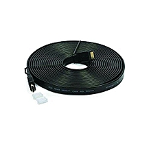 New Flat HDMI Cable - 5 Meter - Black