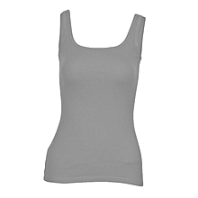 Women Light Grey Stretch Camisole Vest