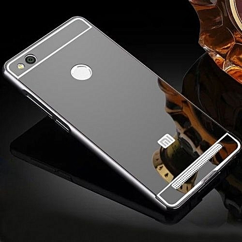 promo code 360d0 7cab7 Luxury Aluminum Metal Hybrid Case Hard Mirror Protective Cover For Xiaomi  Redmi 3 Pro 3s Red Mi 3s - Black 396155 (As Main Picture)