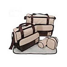 Baby Shoulder Diaper Bags/Nappy Bag - Beige/Brown