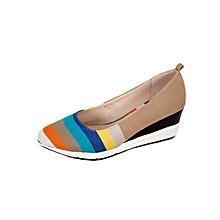 Apricot Women's Contoured Wedge Heel