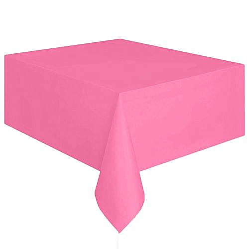 Generic Houseworkhu Large Plastic Rectangle Table Cover Cloth Wipe