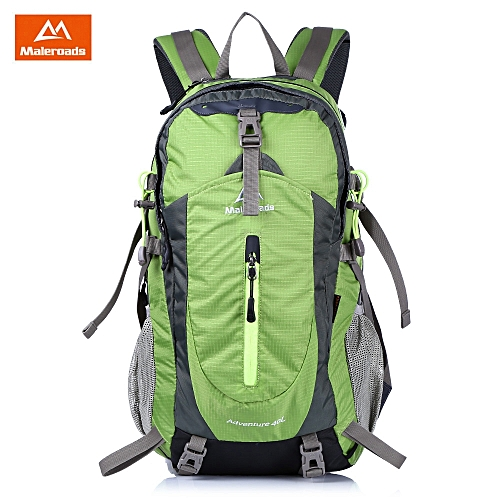 cdf0b198533f Leadsmart MALEROADS Unisex Hiking Backpack for Travel Camping Water  resistant Multifunctional Bag