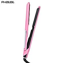 PHOEBE LM - 132 Professional LCD Display Temperature Adjustable Hair Straightener