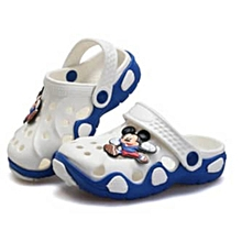 Kid's Crocs  -  Blue and White