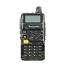 BAOFENG Camouflage Dual Band Handheld Transceiver Radio Walkie Talkie US PLUG